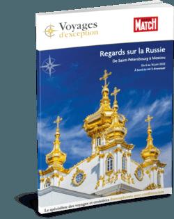 Regards sur la Russie de Saint-Pétersbourg à Moscou avec Paris Match