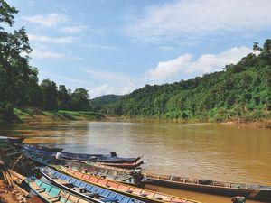 Les chutes Kuang Si