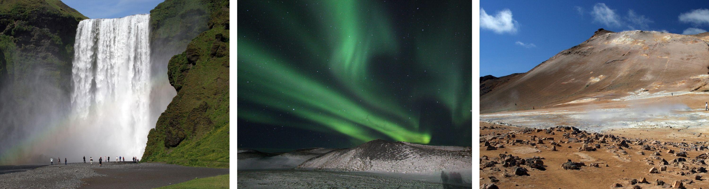 La beauté de l'Islande en 3 images