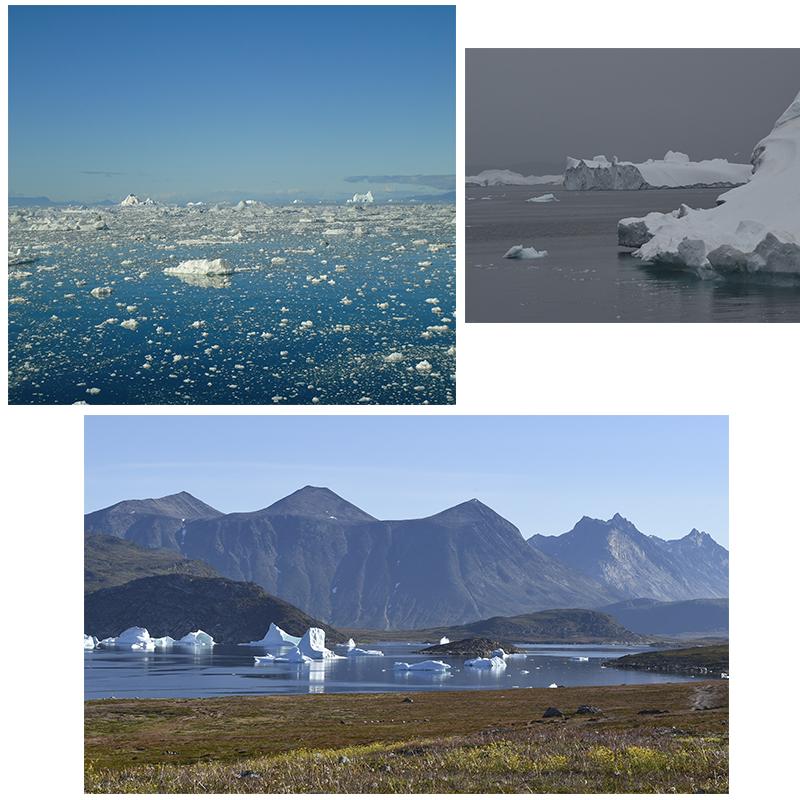 Paysages emblématiques du Groenland
