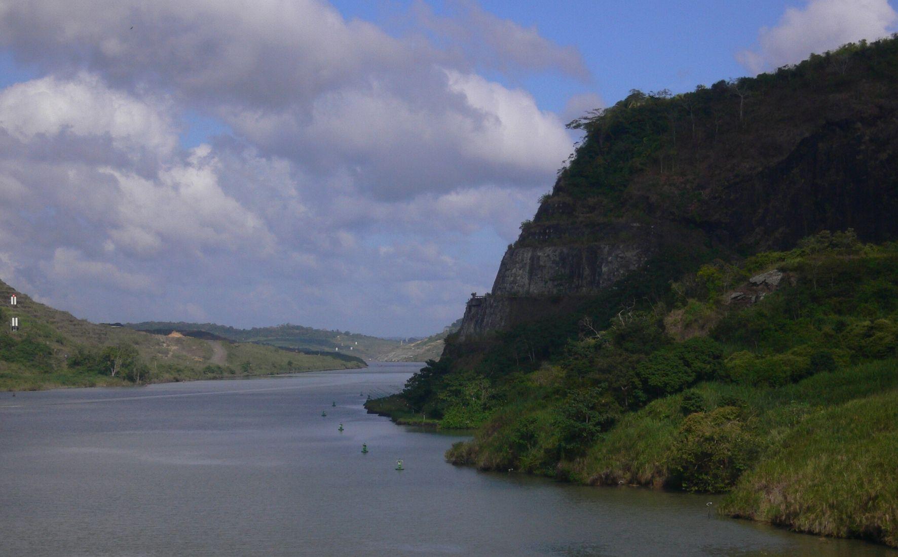 À la sortie Pacifique du Canal de Panama