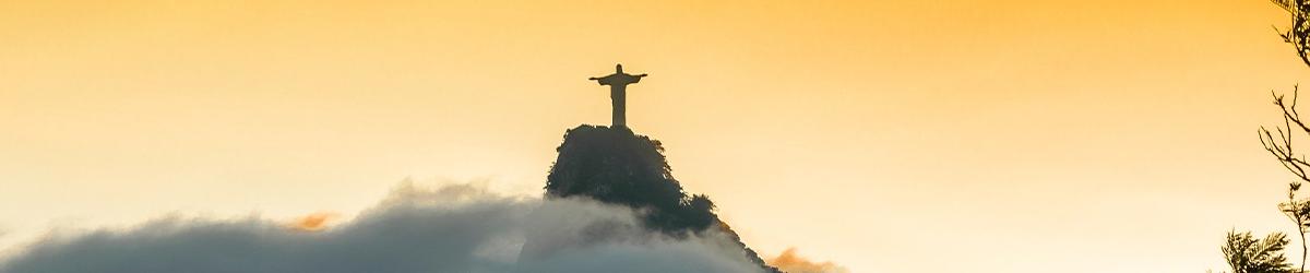 Vue emblématique de la montagne de Rio de Janeiro