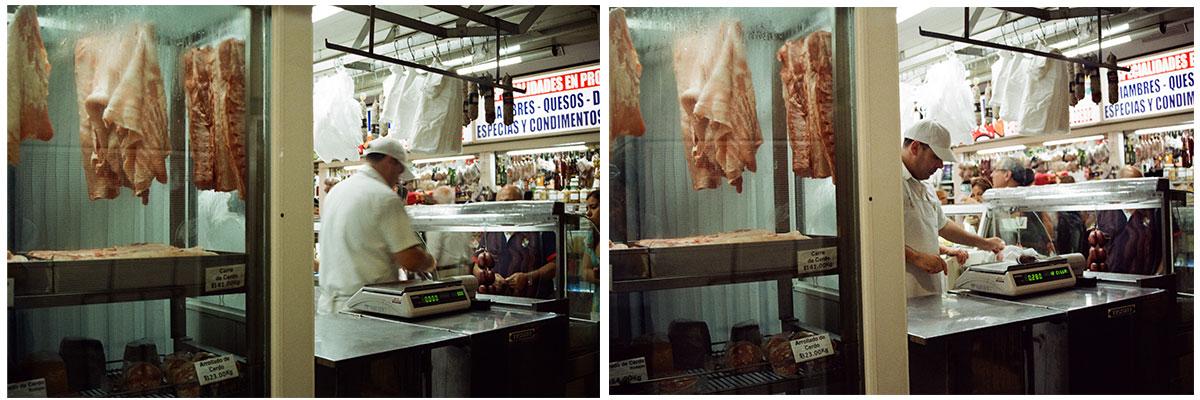 Le marché de Buenos Aires