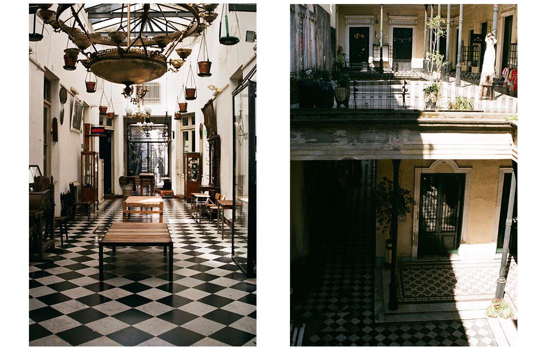 Dans un palais de Buenos Aires