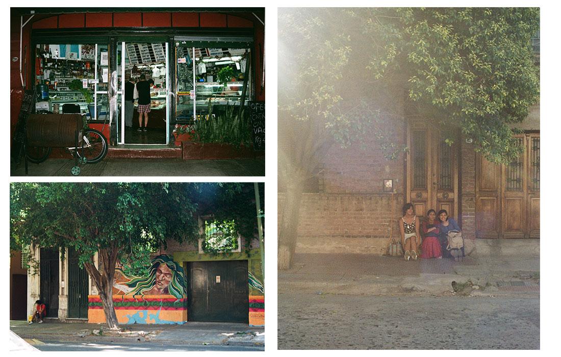 Instants de vie dans les rues de Buenos Aires
