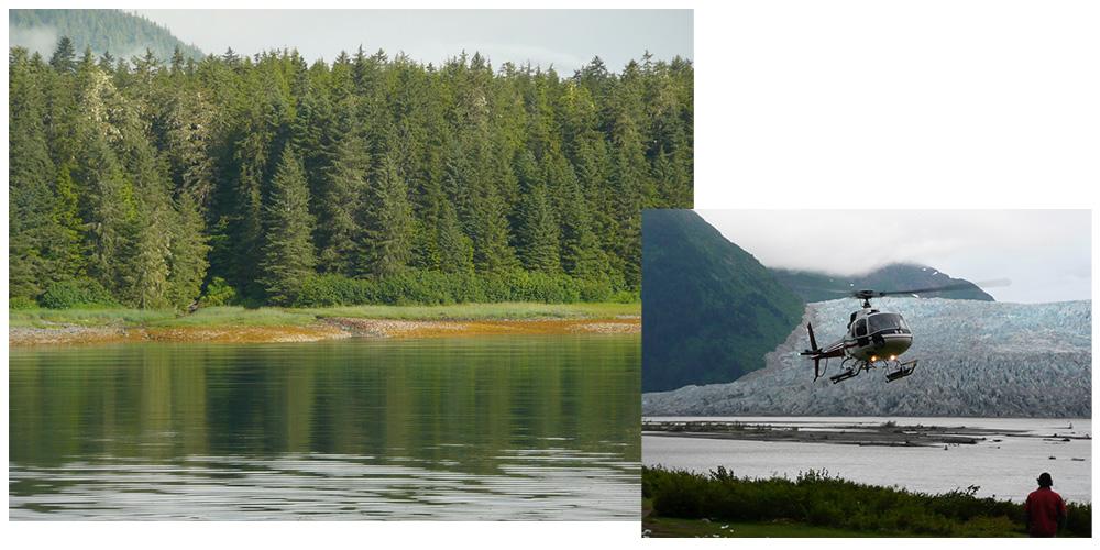 Découvrir l'Alaska en excursions lors d''une croisière