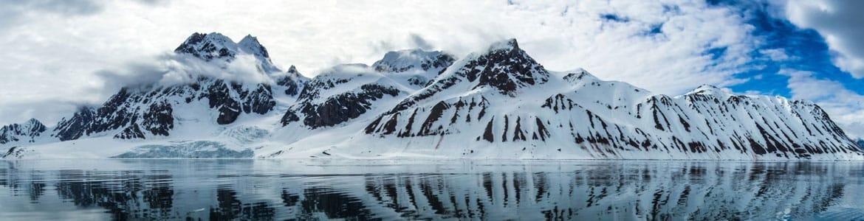 Les glaciers du Spitzberg, colosses du Svalbard