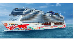 Norwegian Joy en 2017