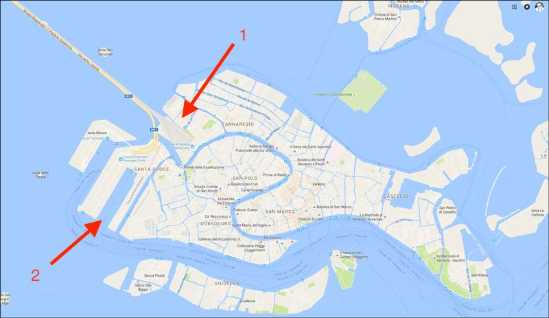 Croisi re qui part de venise le d but du voyage dans l 39 adriatique - Hotel venise port croisiere ...