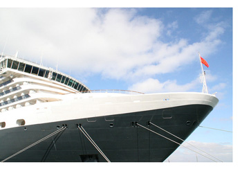Proue du Queen Mary 2