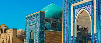 Octobre 2021 : découvrez les richesses d'Ouzbekistan, Samarcande à bord du train l'Orient Silk Road Express. Conférences incluses !