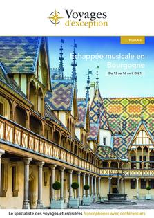 Echappée musicale en Bourgogne